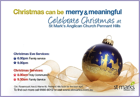 Christmas 2012 at St Mark's Anglican Church Pennant Hills