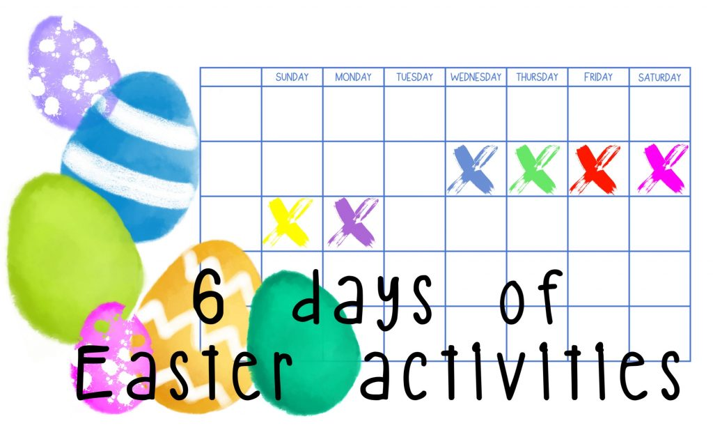 6 Days of Easter Activities