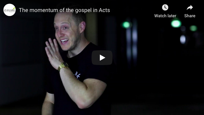 The momentum of the gospel in Acts