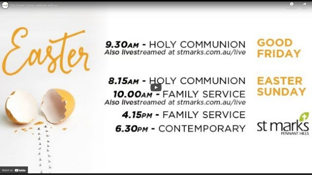 This Easter: Come, Celebrate with us